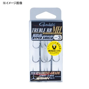 がまかつ(Gamakatsu) バラ トレブル RB-MH #4 67366