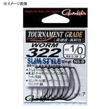 がまかつ(Gamakatsu) バラ TGW ワーム322スリムスタイル 67079 ワームフック(オフセット)