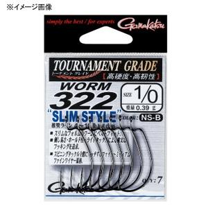 がまかつ(Gamakatsu)バラ TGW ワーム322スリムスタイル