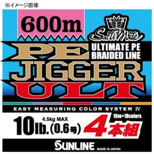 サンライン(SUNLINE) ソルティメイト PEジガー ULT 4本組 300m ジギング用PEライン