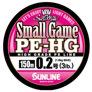 サンライン(SUNLINE) ソルトウォータースペシャルスモールゲームPE−HG 150m