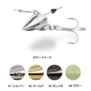Aqua Wave(アクアウェーブ) Spark HEAD(スパークヘッド) 1/4oz #3 ガンメタ 211733
