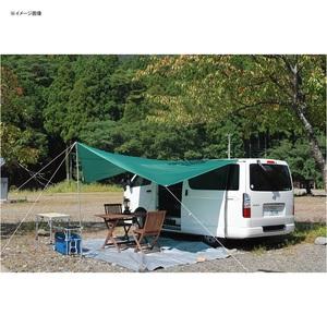【送料無料】BMS(ビーエムエス) カーサイドペンタゴンタープ グリーン CST01