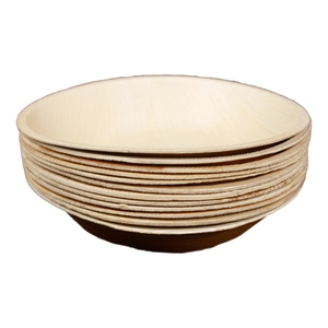 エコソウライフ(ECOSOULIFE) Palm Leaf 12pcs small bowls Natural 14861