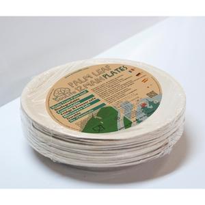 エコソウライフ(ECOSOULIFE)Palm Leaf 12pcs Main Plates