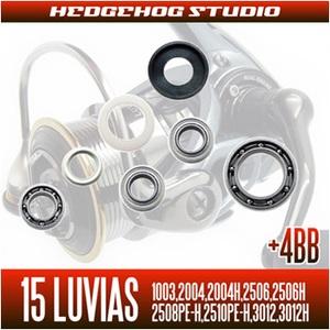 HEDGEHOG STUDIO(ヘッジホッグスタジオ)15ルビアス シングルハンドル MAX12BB フルベアリングチューニングキット SHG