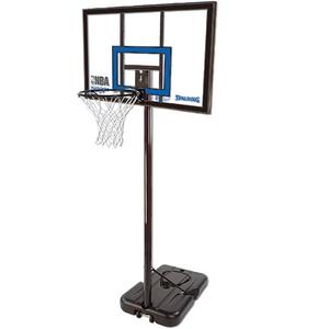 【送料無料】SPALDING(スポルディング) バスケットゴール ハイライトアクリルポータブル 77455CN U-7108
