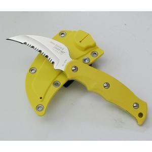 サビナイフ9 シャークレイ 刃長75mm 黄