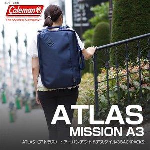 【送料無料】Coleman(コールマン) 【ATLAS/アトラス】アトラスミッション A3/ATLAS MISSION A3 26L ネイビー 2000027000