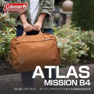【送料無料】Coleman(コールマン) 【ATLAS/アトラス】アトラスミッション B4/ATLAS MISSION B4 18L タバコ 2000027008