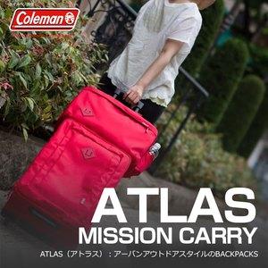 【送料無料】Coleman(コールマン) 【ATLAS/アトラス】アトラスミッションキャリー/MISSION CARRY 35L レッド 2000027013