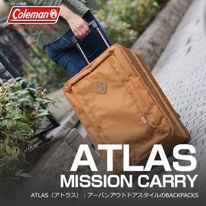 【送料無料】Coleman(コールマン) 【ATLAS/アトラス】アトラスミッションキャリー/MISSION CARRY 35L タバコ 2000027014