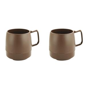 ダイネックス(DINEX) マグカップ 8oz. MUG Set(8オンス マグ セット) DNX1T001 メラミン&プラスティック製カップ