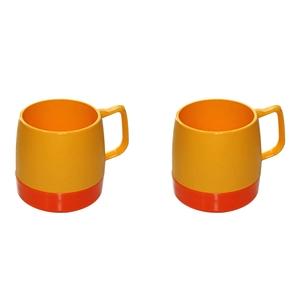 ダイネックス(DINEX) マグカップ 8oz. MUG 2-TONE Set(8オンス マグ 2トーン セット) DNX2T001 メラミン&プラスティック製カップ