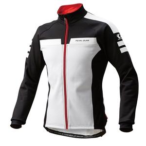 【送料無料】パールイズミ(PEARL iZUMi) ウィンド ブレークジャケット XL ホワイトxブラック 3500-BL