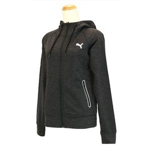 【送料無料】PUMA(プーマ) 513565 フーデッドスウェットジャケット Women's M 01(BLACK HEATHER)
