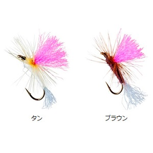 ダイワ(Daiwa) テンカラ毛針セット パラシュート 07104942