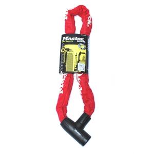 Master Lock(マスターロック) インテグレーテッドキー スリーブチェーンロック 8391 レッド 8391EURDPROCOLR