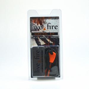 Live Fire Gear(ライブファイヤーギア) ライブファイヤー サバイバルキット 06-03-liti-0005
