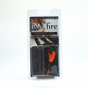 Live Fire Gear(ライブファイヤーギア) ライブファイヤー サバイバルキット 06-03-liti-0005 その他固体燃料