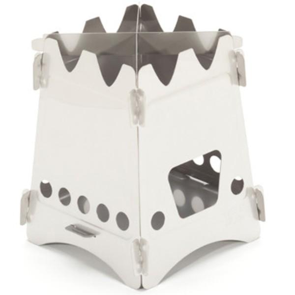 MerkWares(メルクウェアーズ) ステンレス ウッドストーブ 06-02-embe-0001 固形燃料式