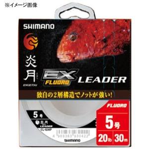 CL−G26P 炎月 真鯛LEADER EX FLUORO 30M 3.0号 クリア