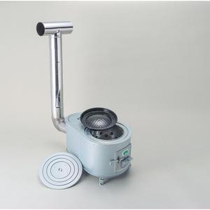【送料無料】ホクアイ(HOKUAI) グリル暖炉キット 玉子型 シルバー 8509301