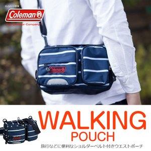 Coleman(コールマン) 【WALKER/ウォーカー】ウォーキングポーチ/WALKINGPOUCH 2L ネイビーボーダー 2000027039