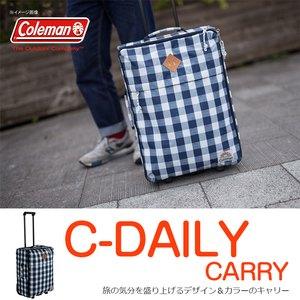【送料無料】Coleman(コールマン) 【C-SERIES/Cシリーズ】C-デイリーキャリー 35L ネイビーチェック 2000027167