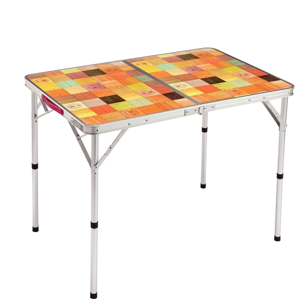 Coleman(コールマン) ナチュラルモザイクリビングテーブル/90プラス 2000026752 キャンプテーブル