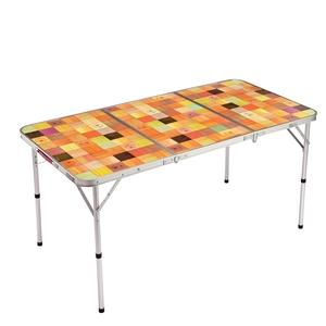 ナチュラルモザイクリビングテーブル/140プラス