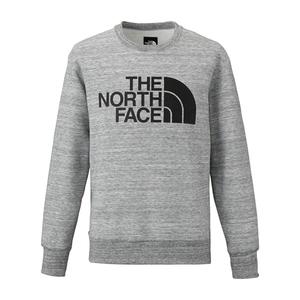 【送料無料】THE NORTH FACE(ザ・ノースフェイス) WR SWEAT CREW Men's M Z(ミックスグレー) NT61508
