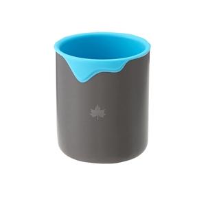 ロゴス(LOGOS) シリコン アルミマグ 280ml ブルー 81285160