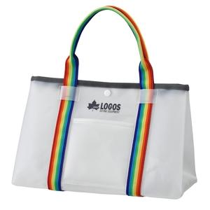ロゴス(LOGOS) アクアストレージ・ミディアムトート ハーフトランス 88230193