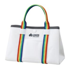 ロゴス(LOGOS) アクアストレージ・ミニトート ミルクホワイト 88230182