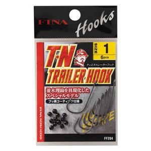 フィナ(FINA) T・N トレーラー フック FF204 ワームフック(マス針タイプ)
