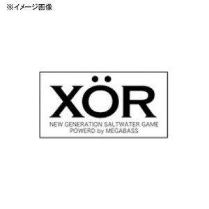 メガバス(Megabass)ステッカー XOR