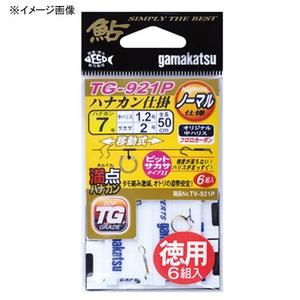 がまかつ(Gamakatsu) 満点ハナカン仕掛 TG921P 徳用 鈎6.5号/ハリス1 金 42252