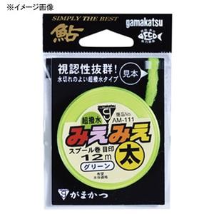 がまかつ(Gamakatsu) みえみえスプール巻目印 AM109 細 グリーン 19183