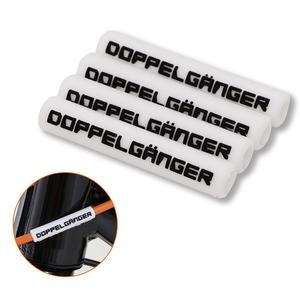 ドッペルギャンガー(DOPPELGANGER) シリコンフレームプロテクター DFP190-WH その他サイクルアクセサリーパーツ