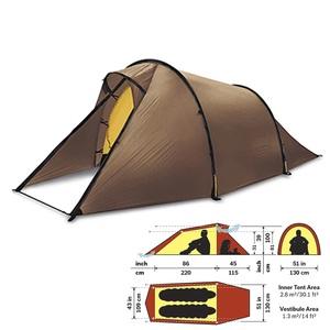 【送料無料】HILLEBERG(ヒルバーグ) テント Nallo 2 Sand 12770002116000