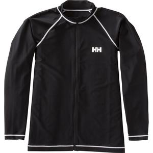【送料無料】HELLY HANSEN(ヘリーハンセン) ラッシュガード ロングスリーブ フルジップ 長袖 M KO HE81603