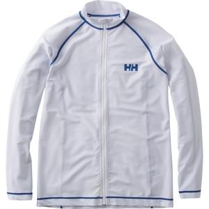 【送料無料】HELLY HANSEN(ヘリーハンセン) ラッシュガード ロングスリーブ フルジップ 長袖 L W HE81603