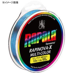 Rapala(ラパラ) ラピノヴァ・エックス マルチカラー 600m eRXC600M10MC オールラウンドPEライン