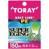 東レモノフィラメント(TORAY) ソルトラインPE スーパーエギングF4 150m F72F エギング用PEライン