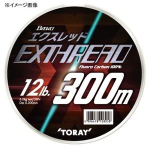 東レインターナショナル(TORAY) バウオ エクスレッド(ボリュームアップタイプ) 300m 3lb ナチュラル S75E