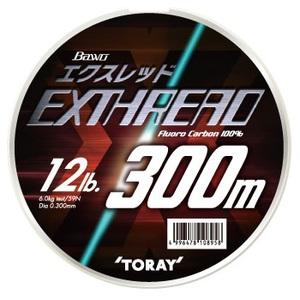 東レモノフィラメント(TORAY) バウオ エクスレッド(ボリュームアップタイプ) 300m S75E