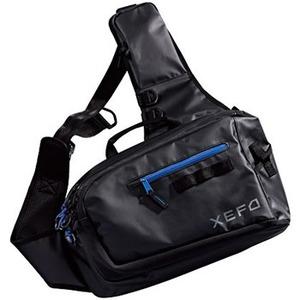BS−211P XEFO スリングショルダーバッグ XT  ブラック×ブルー