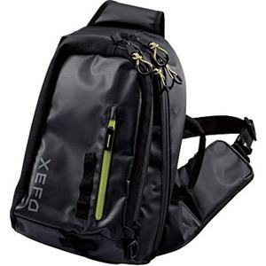 BS−211P XEFO スリングショルダーバッグ XT  ブラック×ライトグリーン
