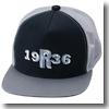 Rapala(ラパラ) 1936 アイ「R」フラット バイザー メッシュ キャップ